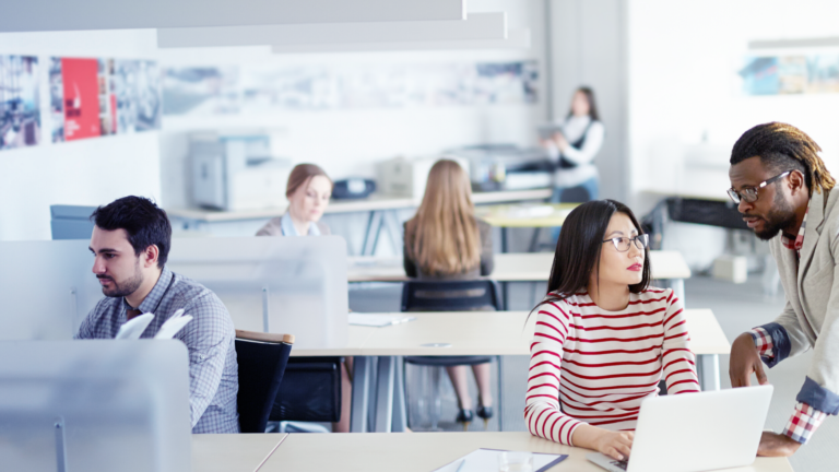The Impact of COVID-19 on Office Space Utilization and the Benefits of Hot-Desking