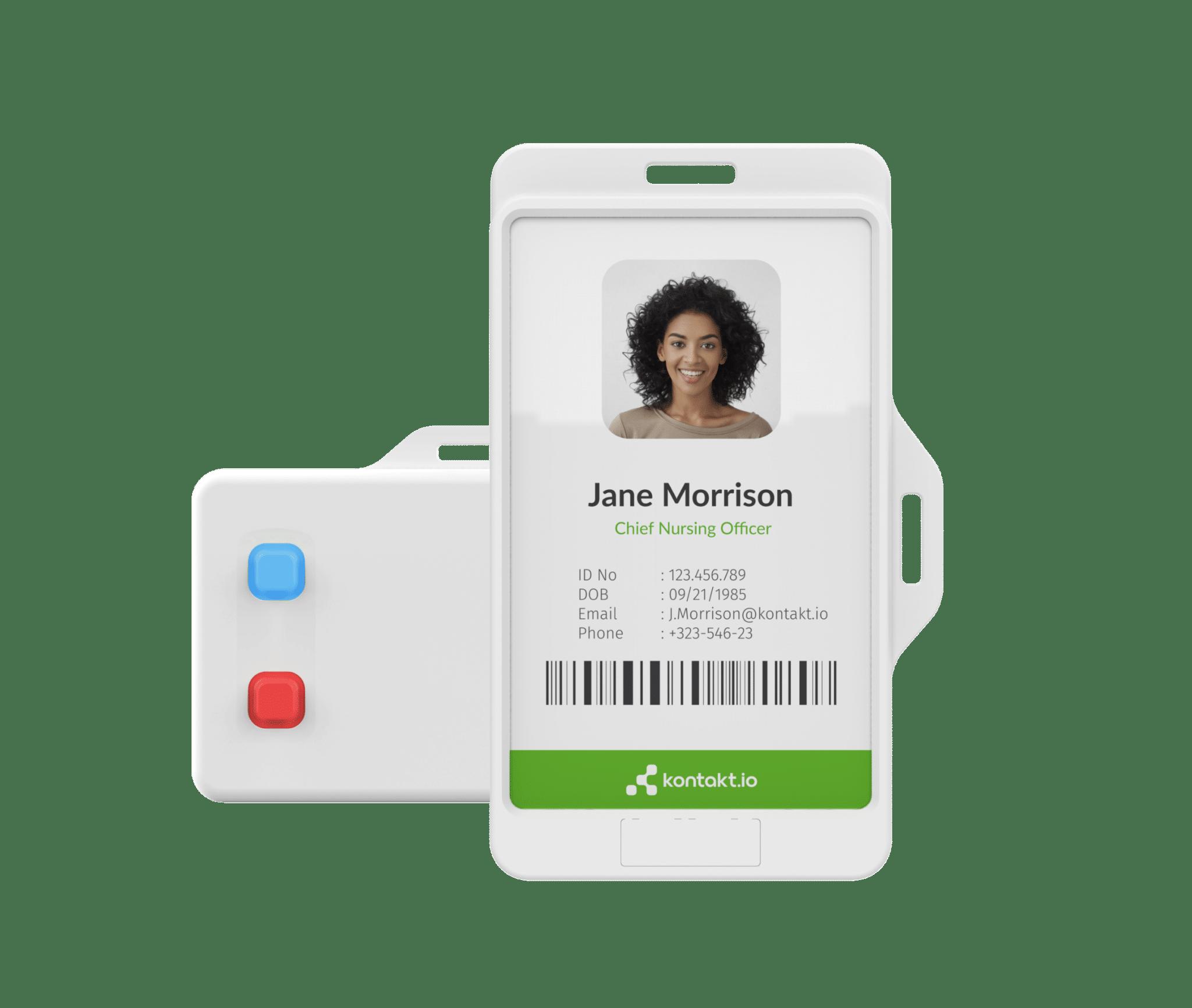Smart Badges as IoMT soultution